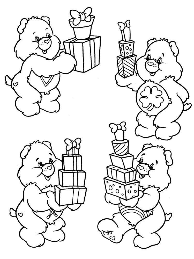 Подарунки розмальовки розмальовки