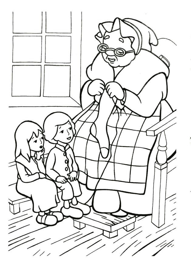 Кай і Герда Розмальовки Снігова Королева