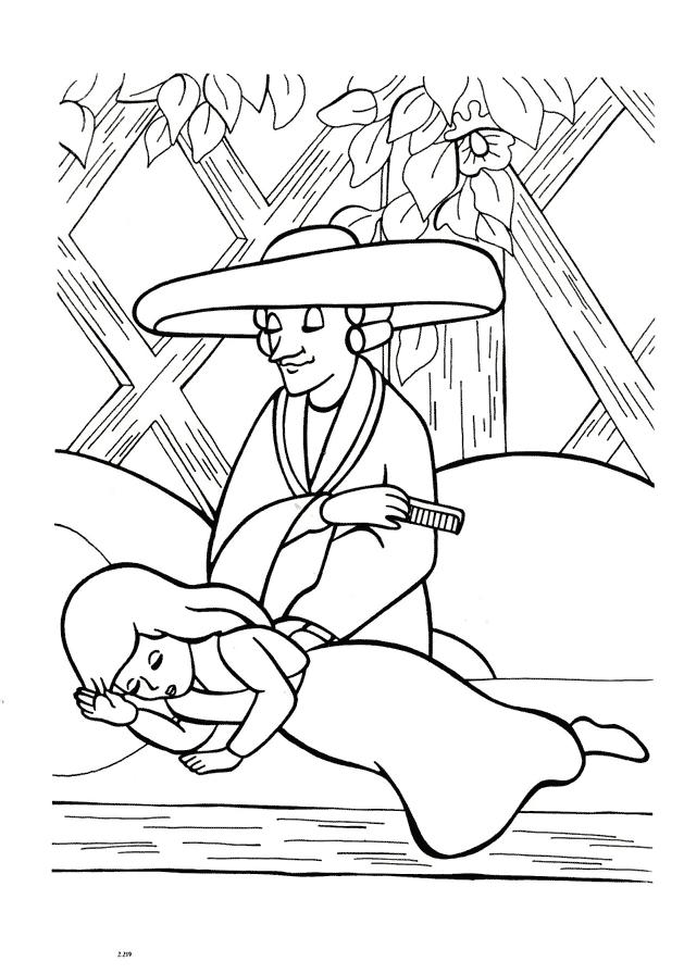 Герда Розмальовки Снігова Королева