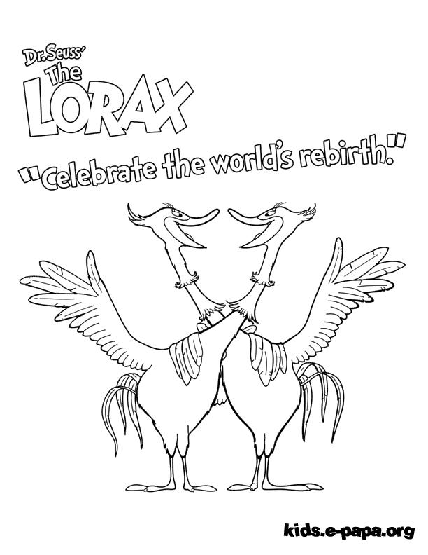 Swomee Swan Розмальовки Розмальовки Лоракс
