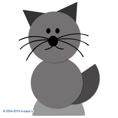 Аплікація кішка