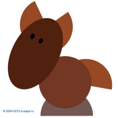 Аплікація коня